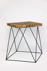 BUNDA teak side table