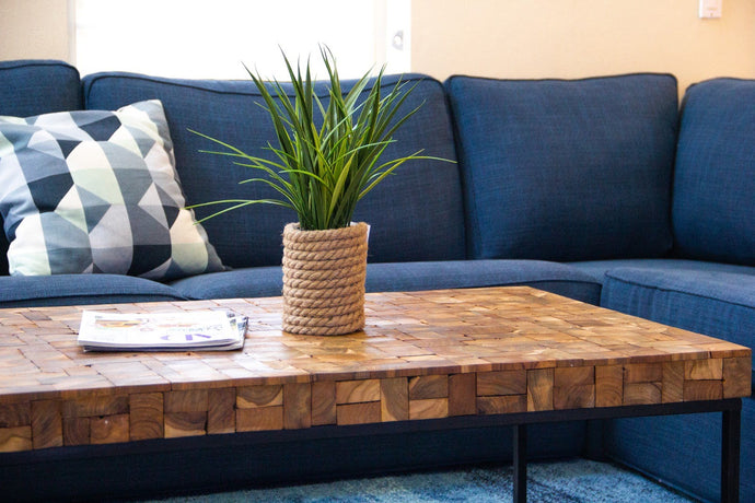 ARGA teak coffee table