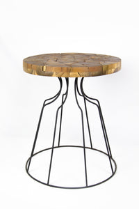 PUTRA teak side table