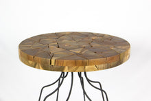 Load image into Gallery viewer, PUTRA teak side table