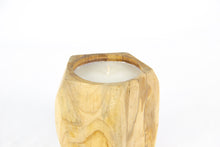 Load image into Gallery viewer, UTARA teak candle holder