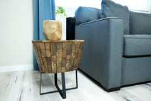 Load image into Gallery viewer, NAKULA teak side table
