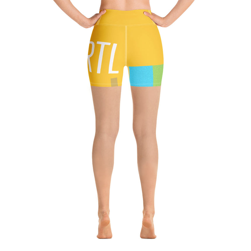 WYZE Body Yoga Shorts