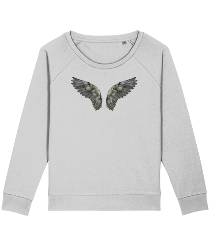 Dark wings boxy sweatshirt