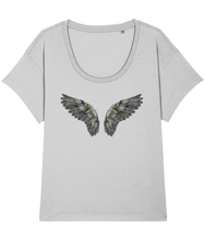 Load image into Gallery viewer, Dark wings loose fit tee