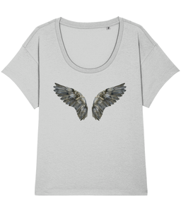 Dark wings loose fit tee