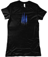 Load image into Gallery viewer, Blue feathers classic fit tee