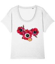 Load image into Gallery viewer, Anemone loose fit tee