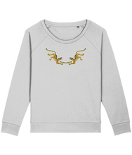 Load image into Gallery viewer, Two leopards boxy sweatshirt