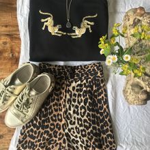 Load image into Gallery viewer, Two leopards classic fit Tee