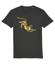 Load image into Gallery viewer, Leopard Classic fit tee - Black, Charcoal, white