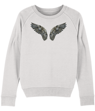 Load image into Gallery viewer, Dark wings sweatshirt