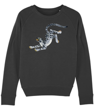 Load image into Gallery viewer, Snow Leopard sweatshirt