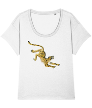 Load image into Gallery viewer, Leopard loose fit tee
