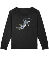 Load image into Gallery viewer, Snowleopard boxy sweatshirt