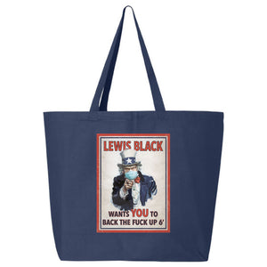 Back The Fuck Up Tote - Navy