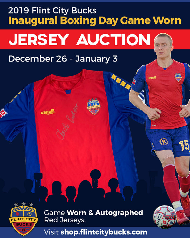 Game Worn, Autographed Jersey Auction