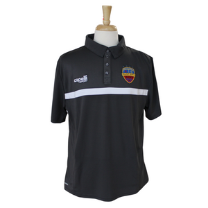 FCB 4 Star Dark Charcoal Polo