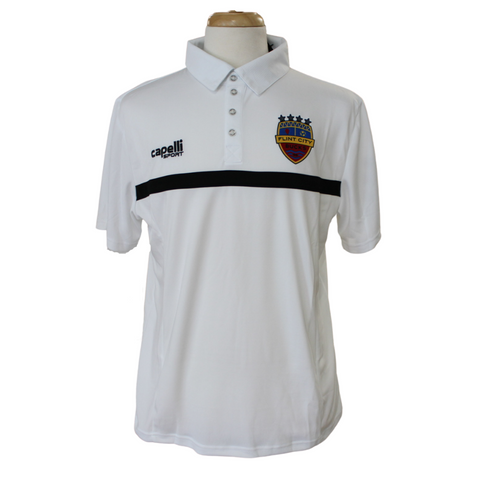 FCB 4 Star White Polo