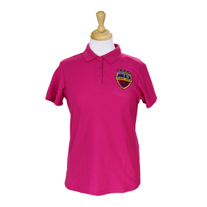 Pink Four Star Polo