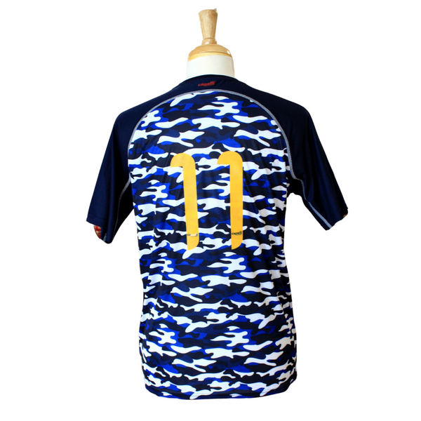 Military Appreciation Night Four Star Authentic Match Camo Jersey