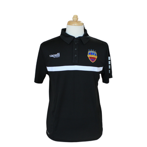 FCB 4 Star Black Polo