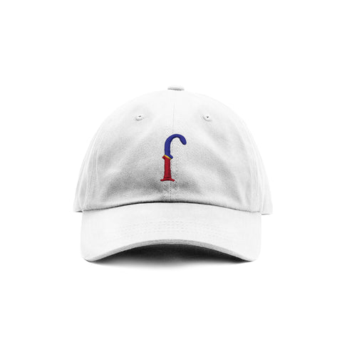 810 x FCB Collab White Unstructured Dad Cap
