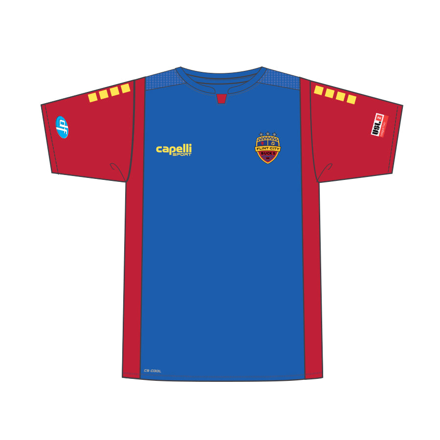 FCB Authentic Youth Blue Jersey
