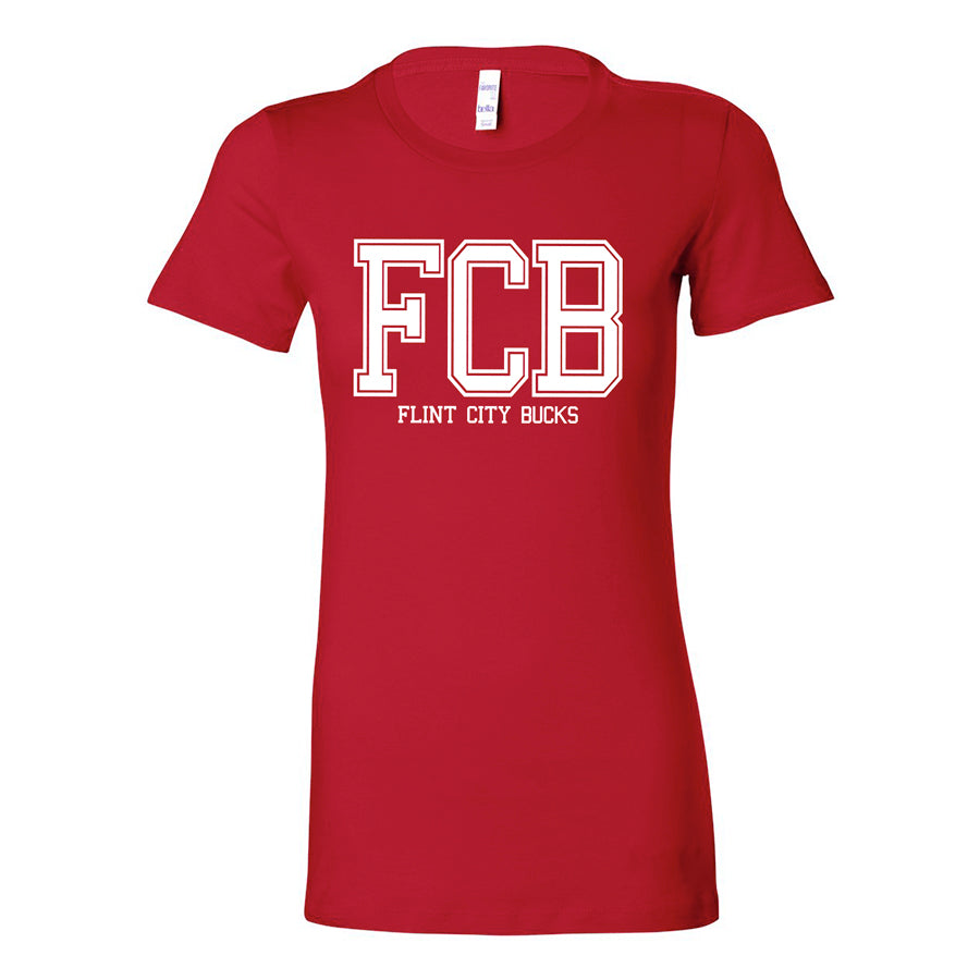 FCB College Women's Red Tee