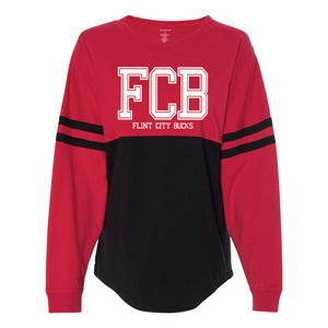 FCB College Red/Black Women's Pom Pom Jersey