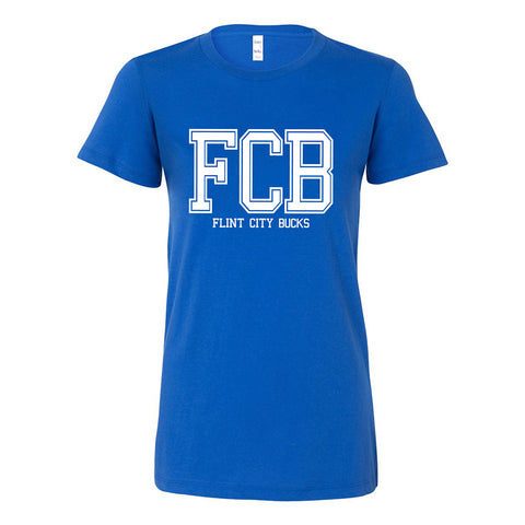 FCB College Women's Royal Tee