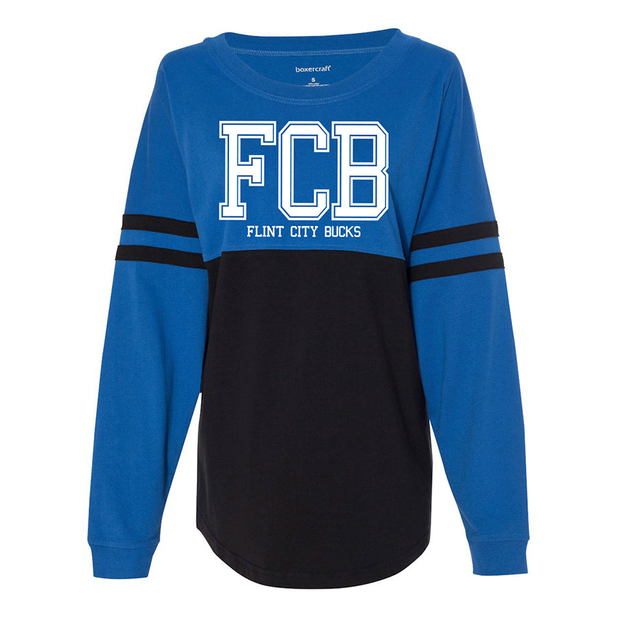 FCB College Royal/Black Women's Pom Pom Jersey