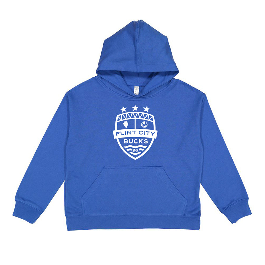 FCB Crest Royal Youth  Hoodie