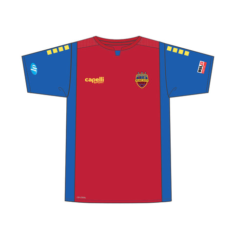 FCB Authentic 3 Star Adult Red Jersey