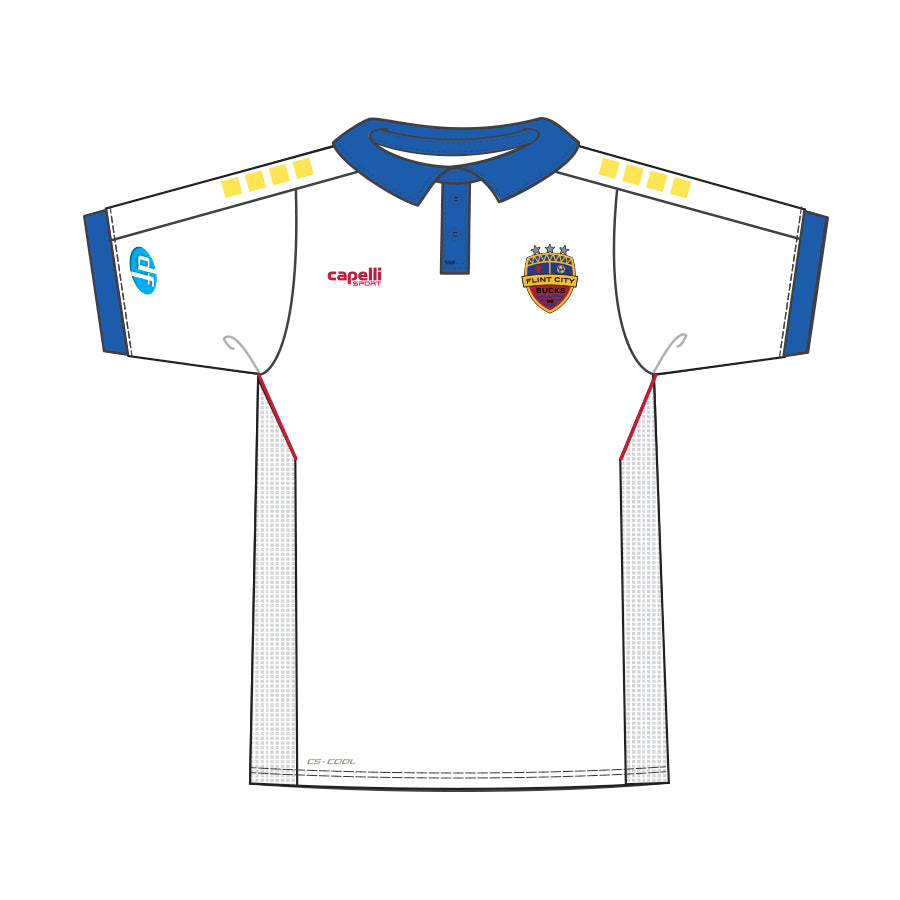 FCB Adult 3 Star White Jersey