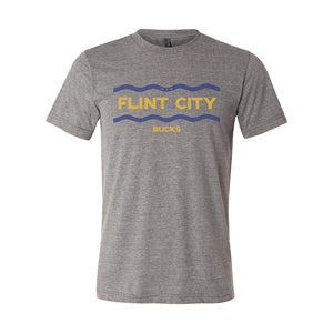 Flint River Unisex Grey Triblend Tee