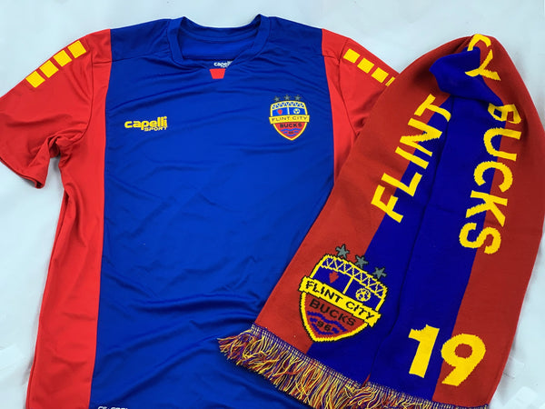 Official FCB Jersey Inaugural Scarf Bundle