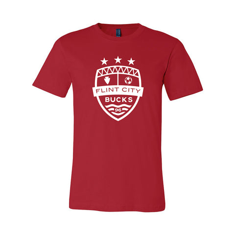 FCB Large Crest Unisex Red Tee