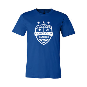 FCB Large Crest Unisex Royal Tee