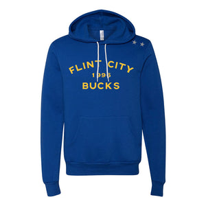 Bucks Unisex Royal Hooded Pullover