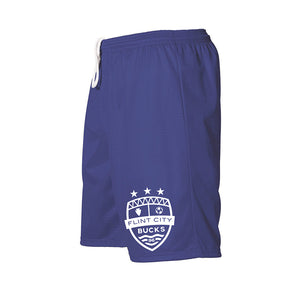 FCB Small Crest Youth Royal Mesh Shorts