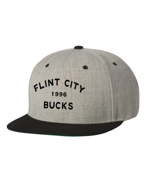 FCB Bucks Stars Flat Bill Snapback Hat