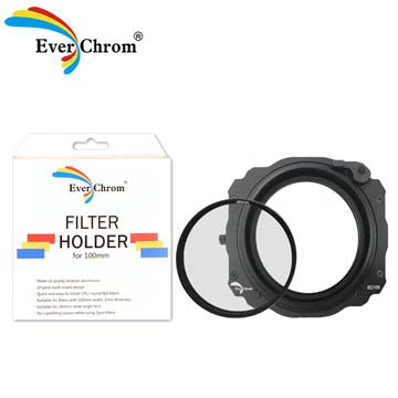 FIRSTLAPSE EverChrom Holder EC-100 Mark II KIT (Incl. CPL filter and adapter rings)