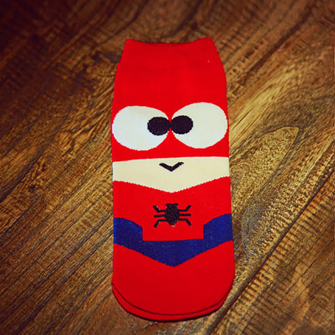 Super hero cartoon hosiery