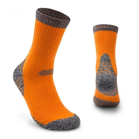 Sweat thickened towel bottom breathable leisure sports socks