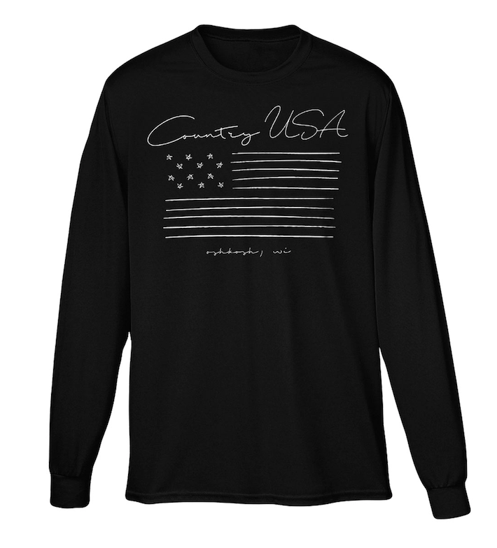 Country Flag Long Sleeve