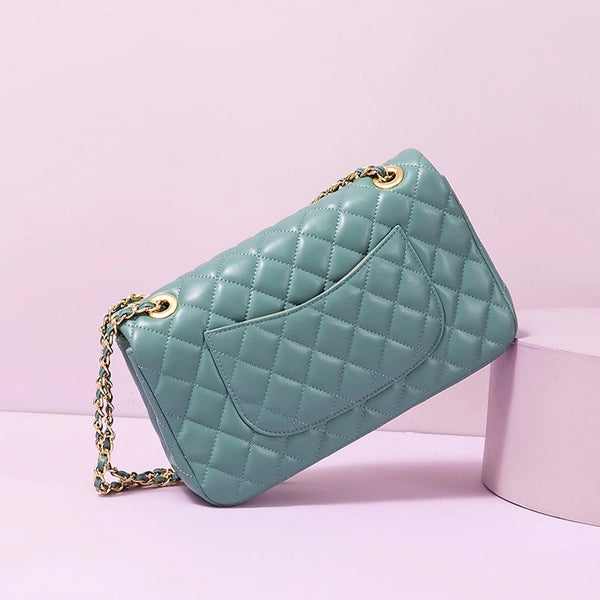 Madeline Quilted  Large Handbag