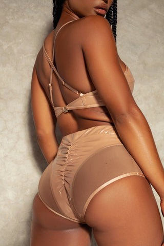 ALL THE FEELS: All Nighter Bottoms in Brown - CREATURES OF XIX