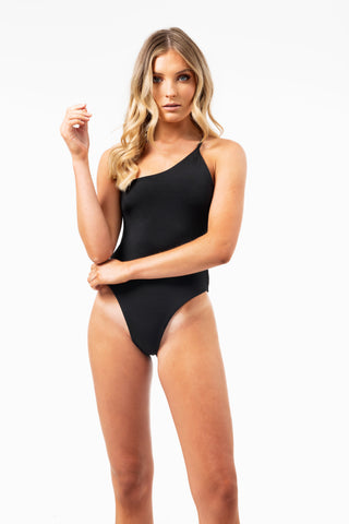 ALL THE FEELS: Avalon One Piece in Black - GERRY CAN