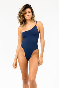Avalon Reversible One Piece in Navy/Snorkel Blue FINAL SALE